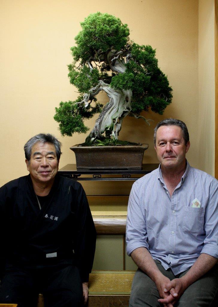 Kunio Kobayashi and a very nervous gaijin