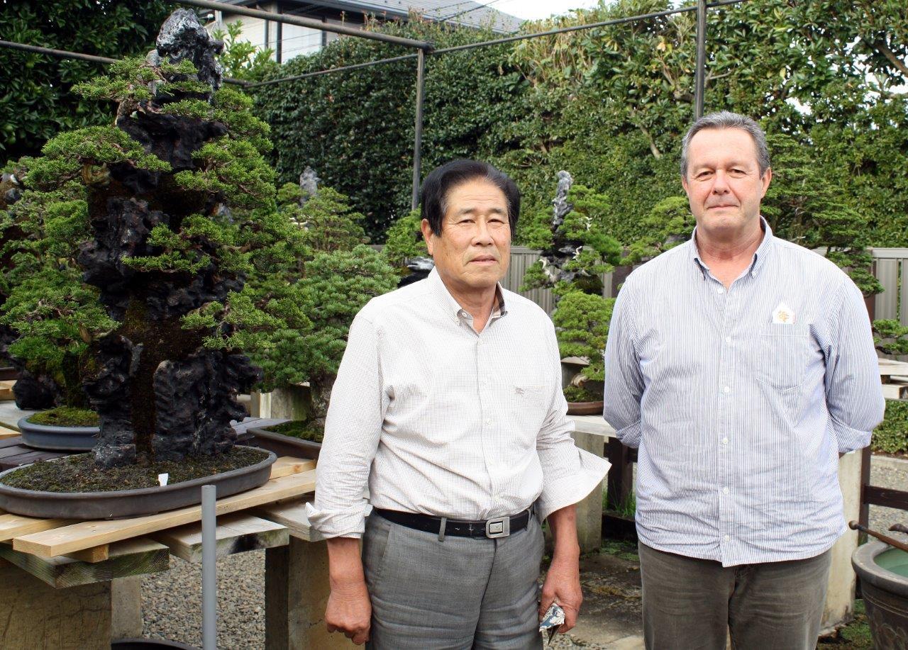 Masahiko Kimura and a very nervous gaijin